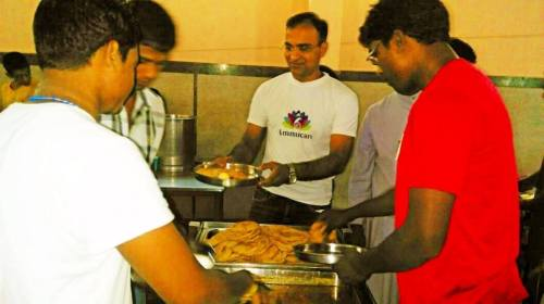 Ammucare - Annadan food seva in Gurgaon - Guru Purnima