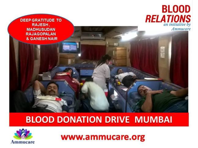 Blood donation Mumbai Ammucare