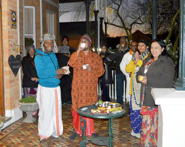 Retreat with Mohanji in South Africa - Water therapy