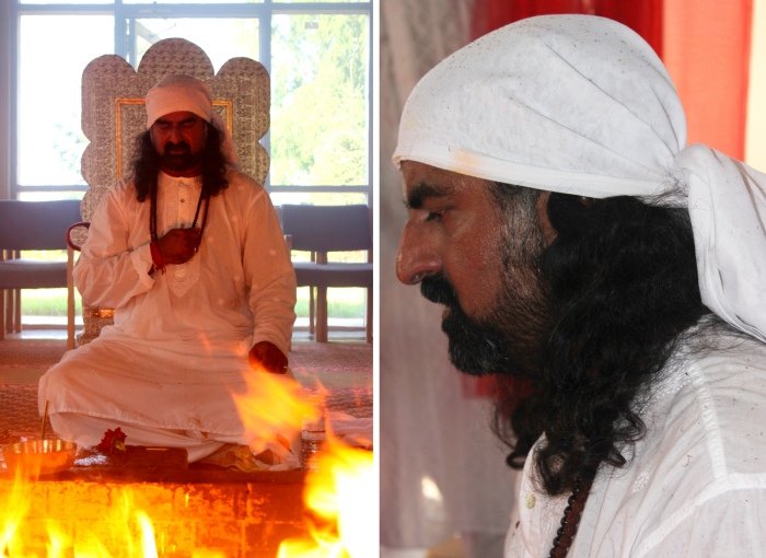 Havan with Mohanji in Canada