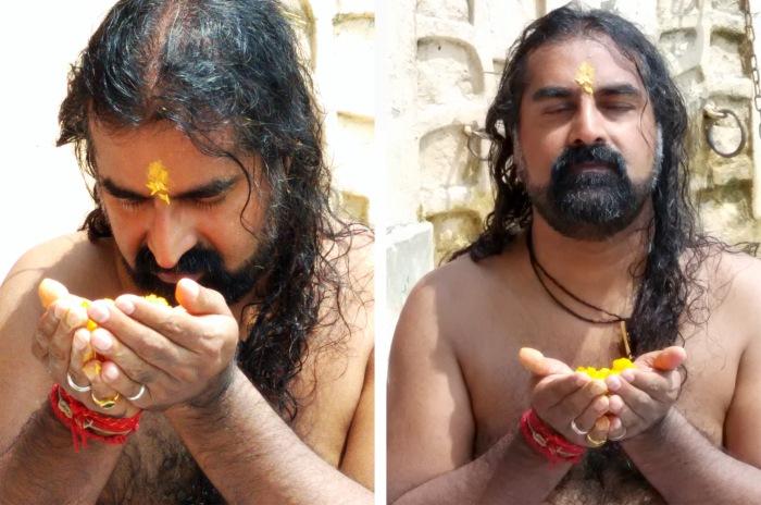 Mohanji during ritual
