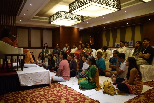 Satsang with Mohanji –the one that was planned