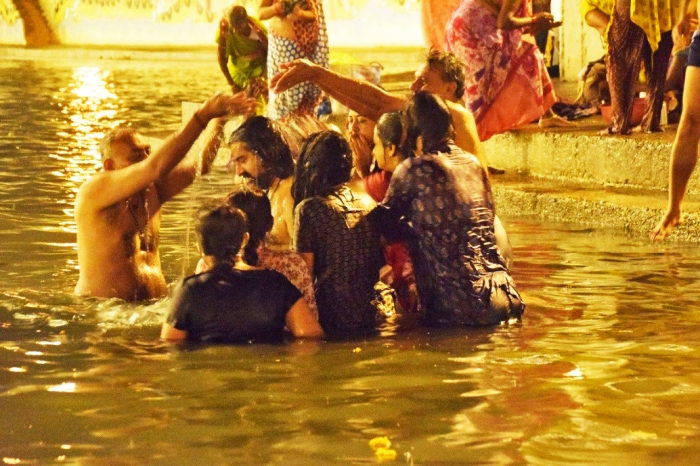 The second holy dip
