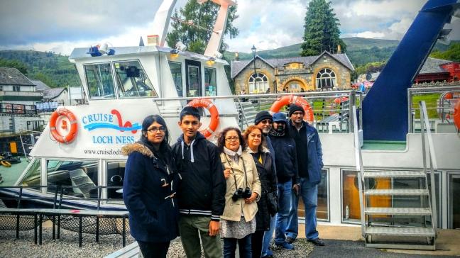 Mohanji Scotland Boat Trip Loch Ness