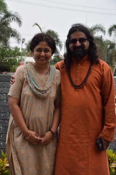 Vidya R. and Mohanji