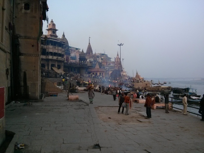 1-Benares-Manikarnika-Ghat-The Gateway to Heaven.jpg