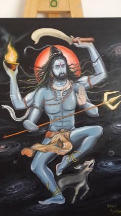Mohanji as Kaala Bhairava by Vishal Mothilal