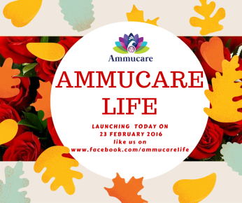 Ammucare Charitable Trust - launching new Facebook page AMMUCARE LIFE