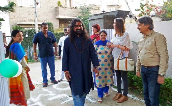 Arrival of Mohan ji