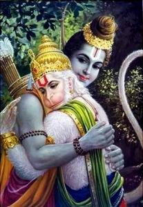 Hanumans devotion to Ram