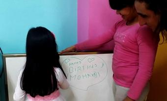 Happy birthday Mohanji, childrens shelter Belgrade, ACT Serbia