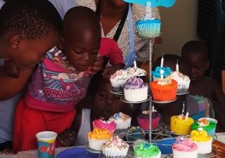 Happy birthday Mohanji from Youth ambassadors Johannesburg, South Africa 2016 2