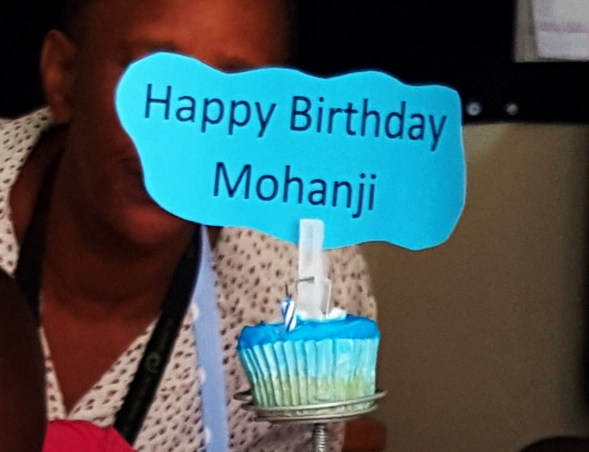 Happy birthday Mohanji from Youth ambassadors Johannesburg, South Africa 2016