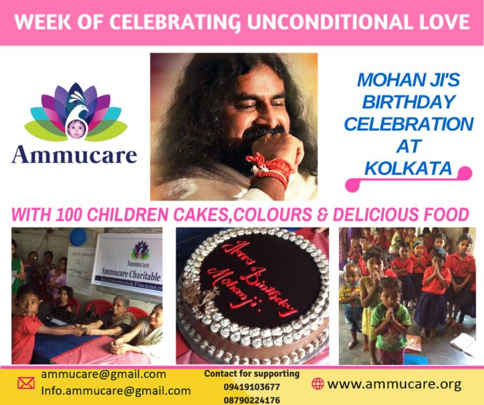 KOLKATA, Mohanjis birthday celebrations 2016, Ammucare