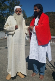 Lamperi Babaji and Mohanji 1