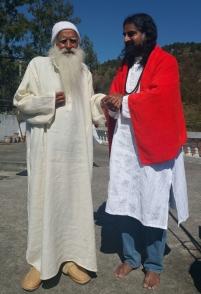 Lamperi Babaji and Mohanji 1