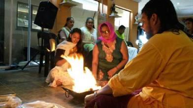 Luxmi Narasima in the flames