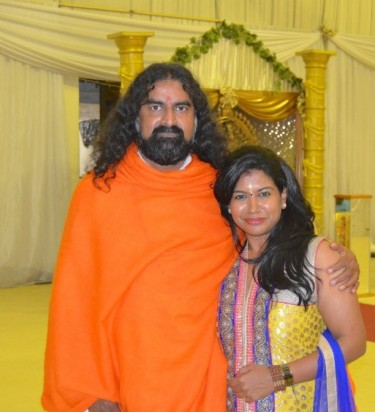 Mohanji and Keshnie Shanon Pillai