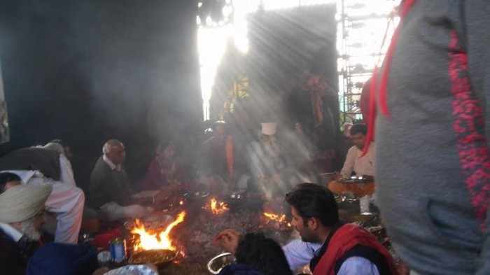 4 Havan at the Jwala Mukhi Temple