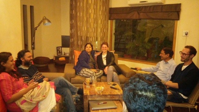8 Homecoming - at Mamujis house in Jammu