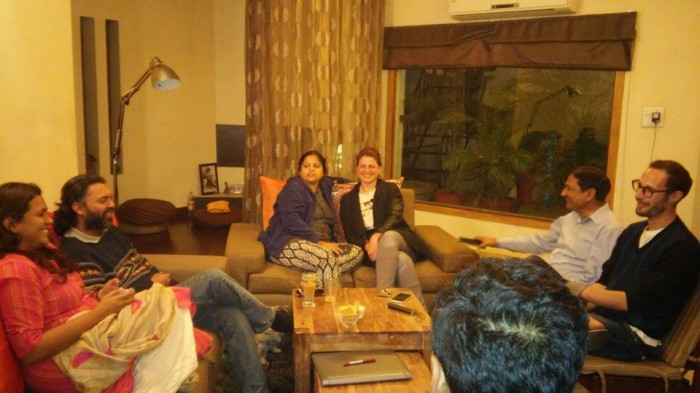 8 Homecoming - at Mamujis house in Jammu
