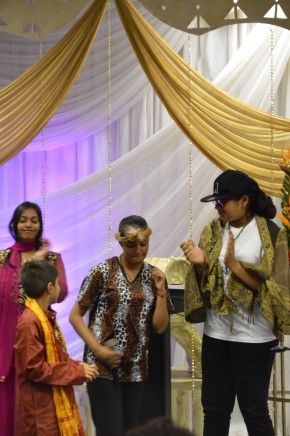 11 Datta Tapovan Youth enacting a play for Mohanji