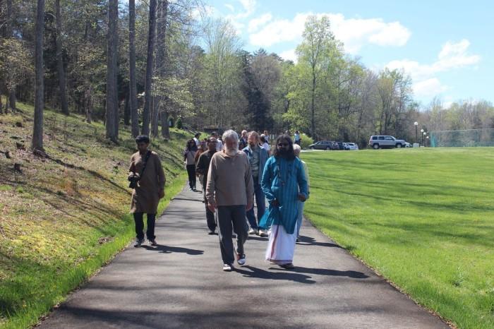 Conscious walk at Sylvian Surroundings