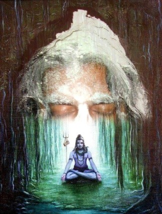 14 Paining of Mohanji and Shiva by Palak Mehta