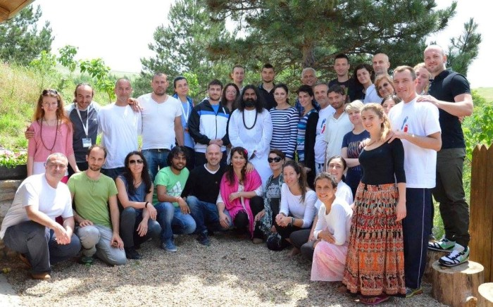 7 group photo in Macedonia