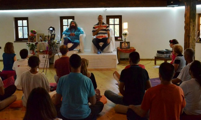 8 satsang, cleansing in Stip, Macedonia