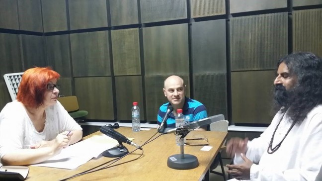 9 Mohanji - radio interview in Skopje