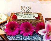 Happy birthday Mohanji cake - Centurion South Africa