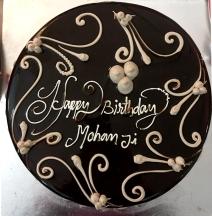 Happy birthday Mohanji - cake