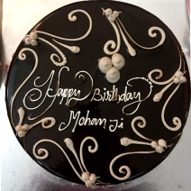 Happy birthday Mohanji - cake