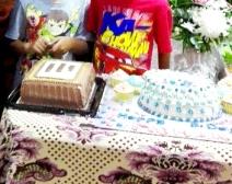 Happy birthday- Vegan cakes in celebration of Baba's birthday