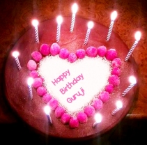Mohanjis Birthday cake UK