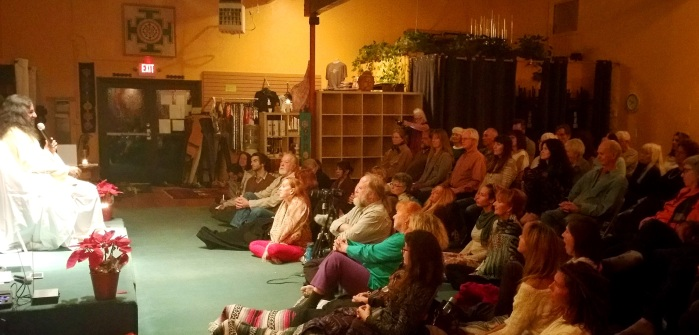 PIc 4 - Satsang in Sedona - Mohanji and the wonderful Sedona audience
