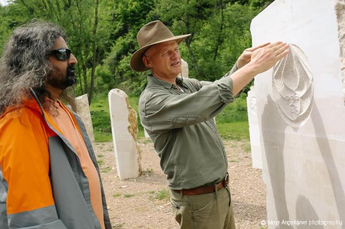 Dr Semir Osmanagic and Mohanji in Park Ravne 2, Visoko, Bosnian Pyramids with Mohanji