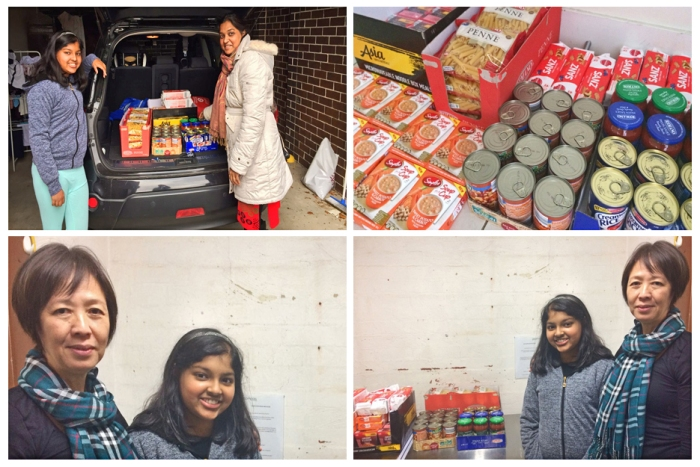 ACT Australia-delivering food to the needy Guru Purnima