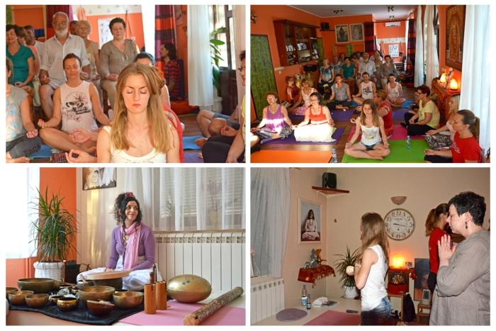 Datta Tapovan Serbia Guru Purnima celebration