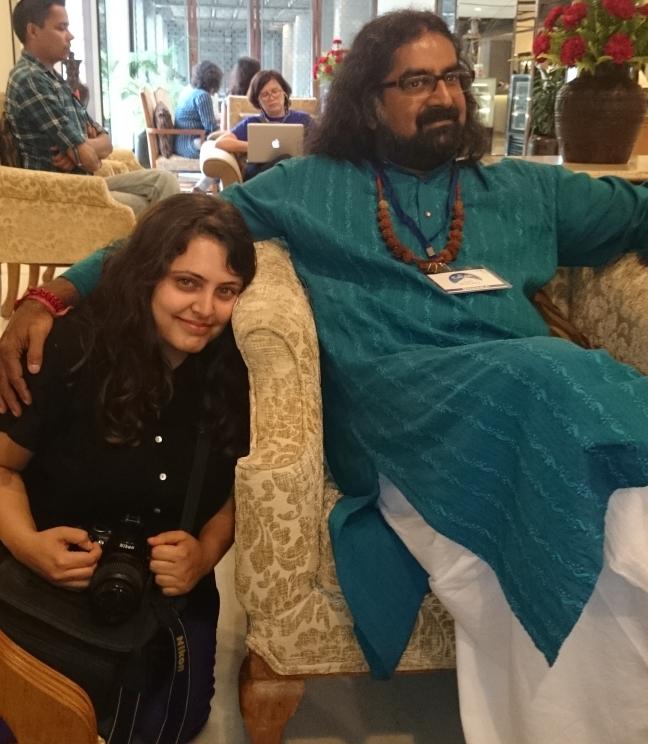 Mohanji and Palak in Kathmandu Hotel.jpg