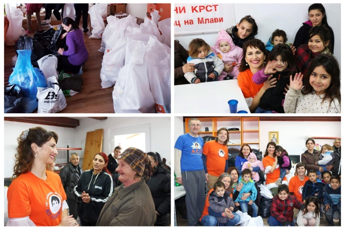 ACT Serbia Happy birthday Mohanji - clothes and food donation - Petrovac na Mlavi