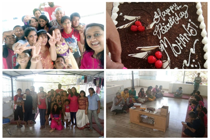 Bangalore - Ammucare - Happy birthday Mohanji - Girls shelter