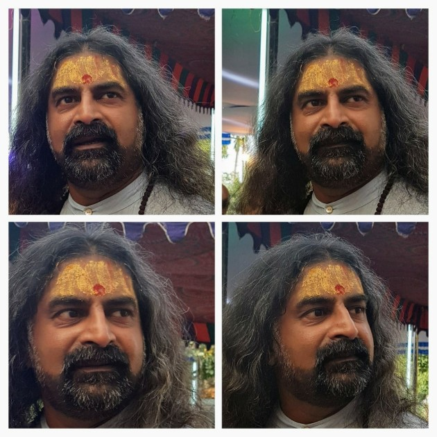 Mohanji - Lord Hanuman manifests on His face - 6- Dec 2017