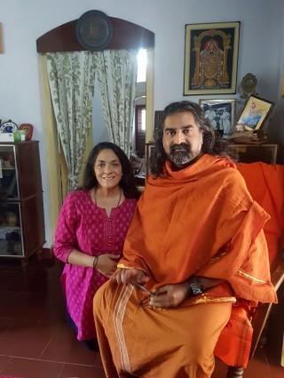 Priti Bhardvaj and Mohanji