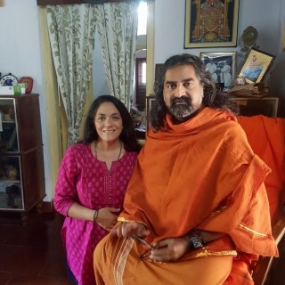 Priti Bhardvaj and Mohanji