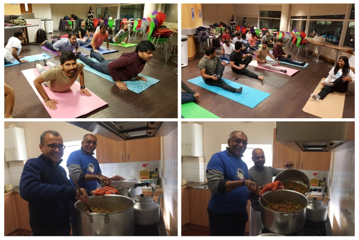 UK - Happy birthday Mohanji - HSTY YOGA - Feeding the hungry - ACT UK