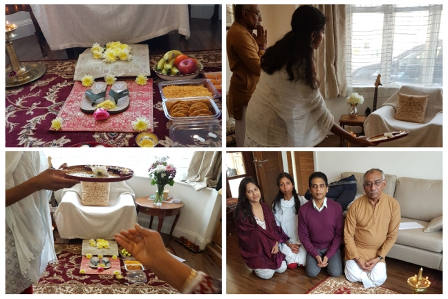 UK - Happy birthday Mohanji - Paduka puja