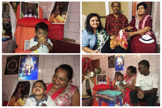 Baby Ariv and Mohanjis birthday 0