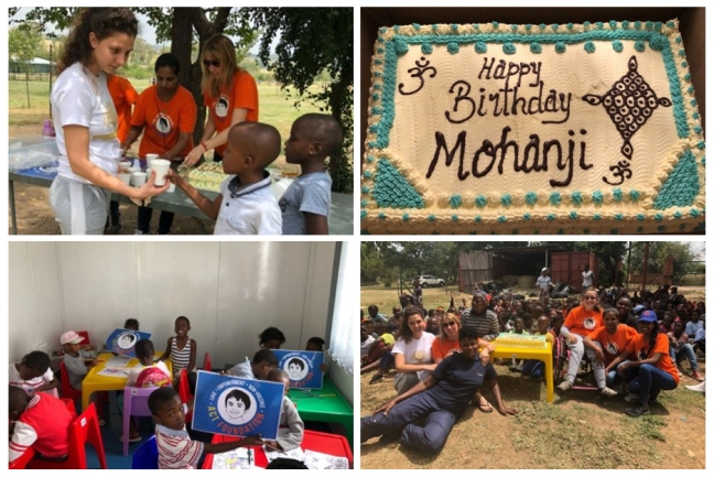 Johannesburg - ACT South Africa - Happy birthday Mohanji